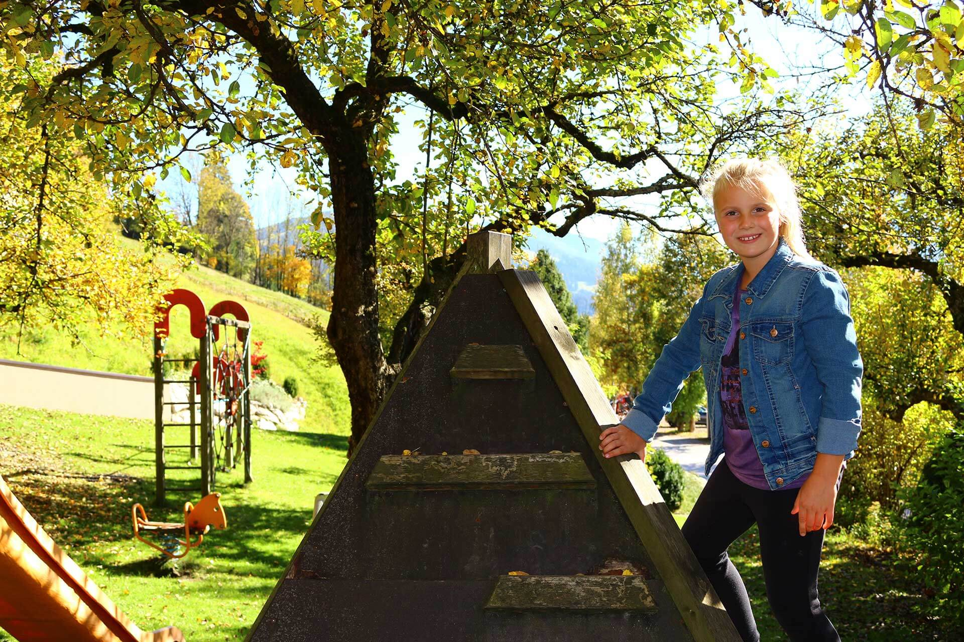 Unser Spielplatz im Hotel Laudersbach