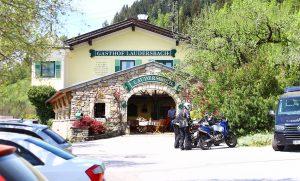 Taverne Gastgarten Gasthof Laudersbach