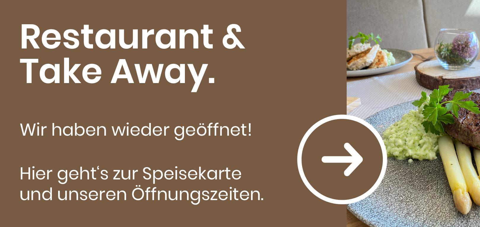Take Away Mittagsgerichte & Speisekarte