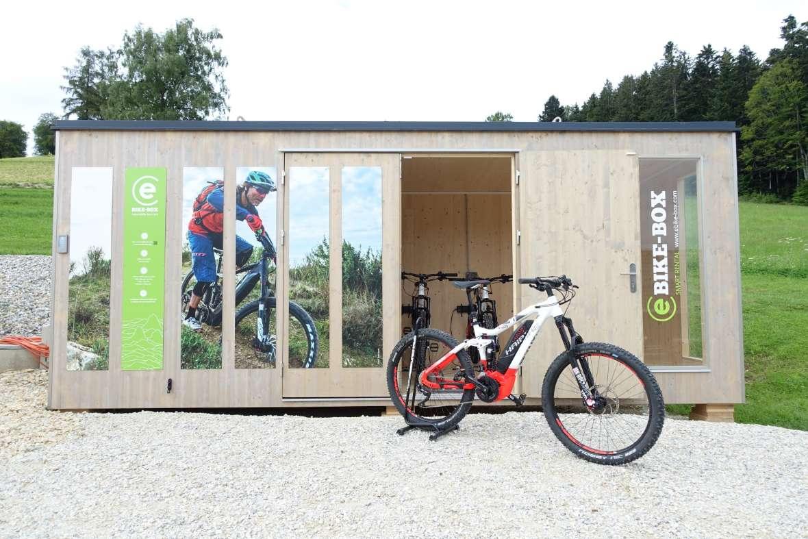 eBIKE-BOX - der E-Bike Verleih