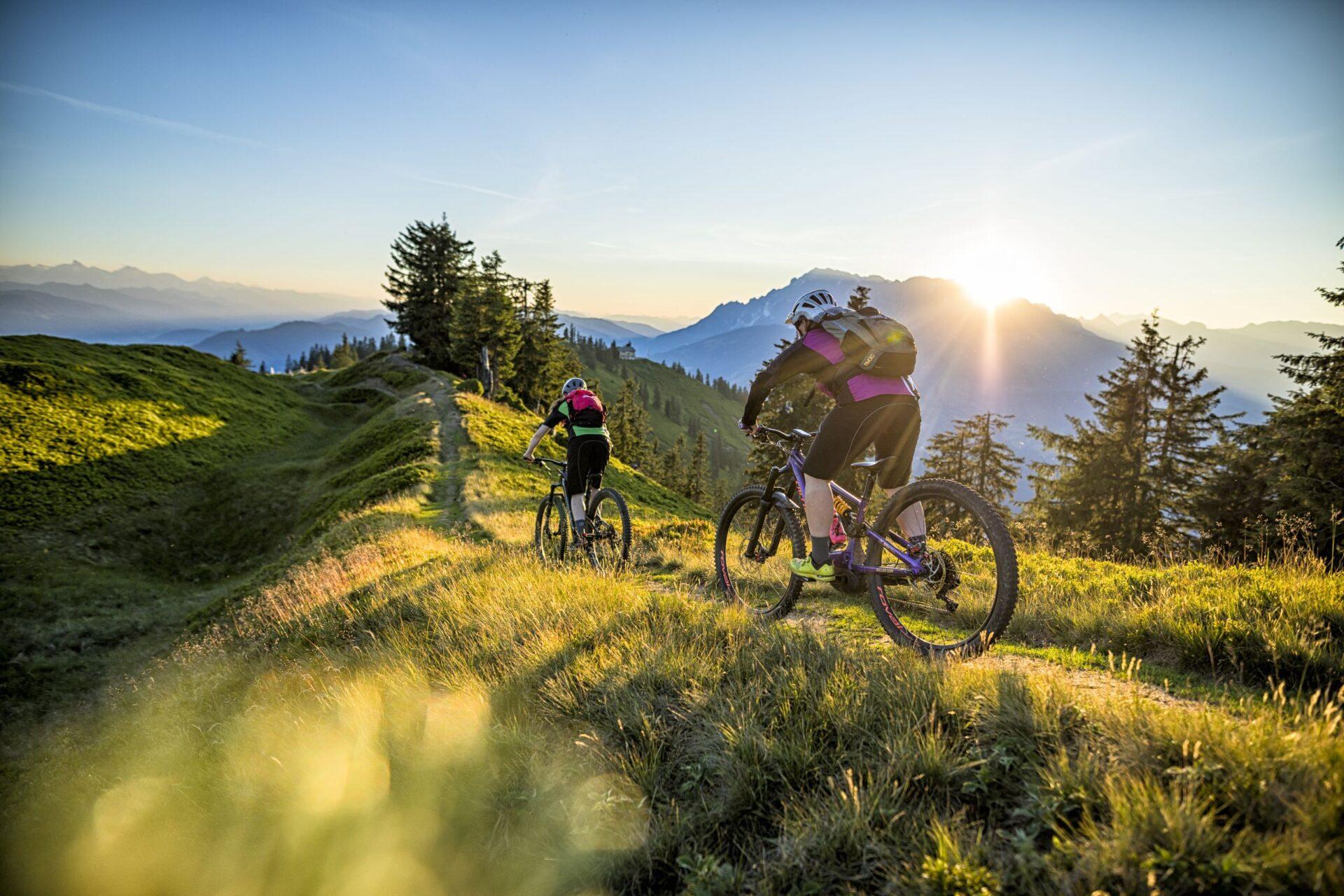 Mountainbike und Radtouren